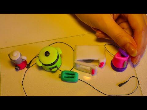Polymer clay set of kitchen appliances|Miniature clay kitchen set| Easy to do