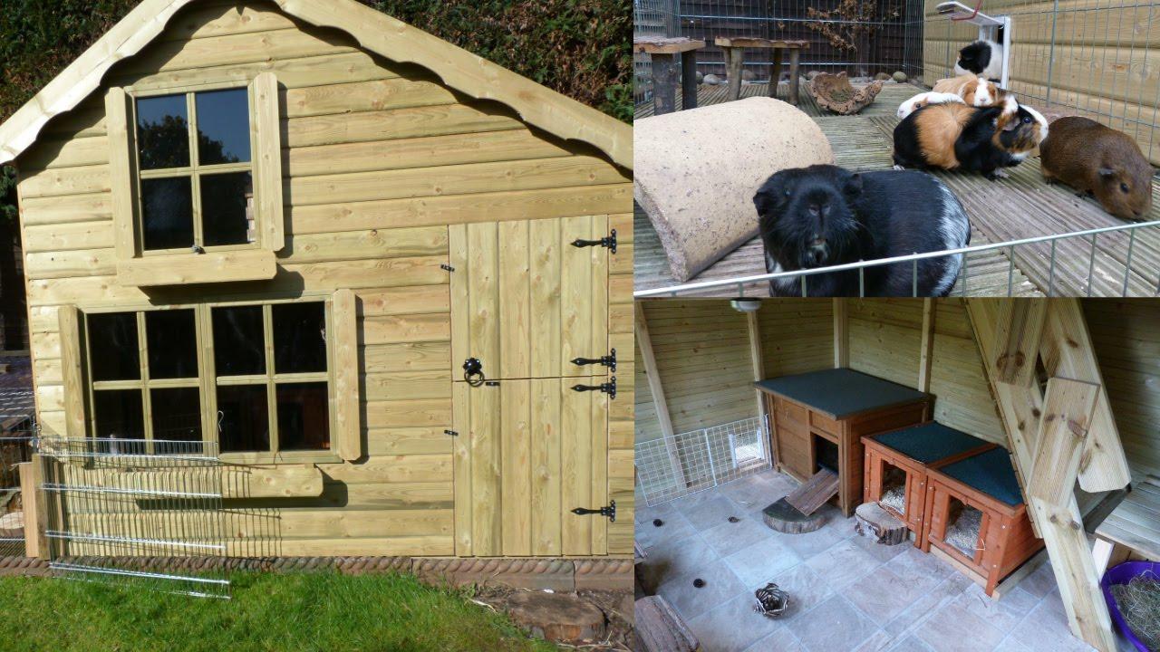 Guinea pig house tour april 2016 youtube for How to build a guinea pig house