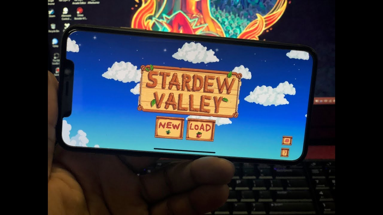 5a994b05295cd7 Gaming on the iPhone Xs Max  Stardew Valley - YouTube