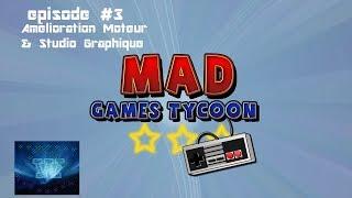 Mad Games Tycoon Episode 3 |Studio Graphique & Amélioration du Moteur !