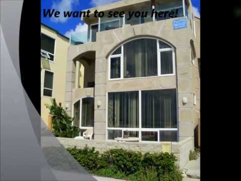 Ocean Front Penthouse in Mission Beach-(SD85OFW)