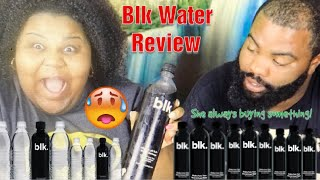 BLK WATER REVIEW/ TASTE TEST!