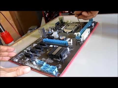 Unboxing H81-BTC-KING Motherboard (Esonic)