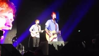 Ed Sheeran - Give Me Love Live @Alcatraz Milan