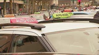 Rouen : les auto-écoles manifestent