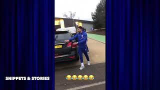 EMERSON car wont close - Jorginho willian amp luiz prank emerson