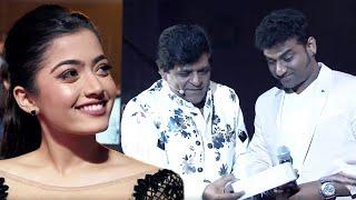 Rashmika Mandanna Enjoying DSP And Ali's Ultimate Fun