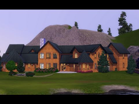 the sims 3 building a christmas cabin youtube