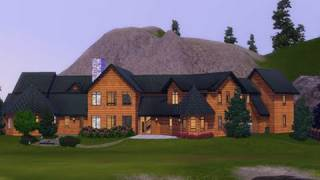 The Sims 3 - Building A Christmas Cabin