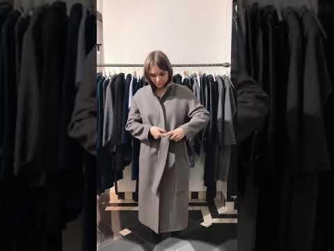 Женское пальто серое | Интернет-магазин Am'Werkstatt | Распродажа пальто