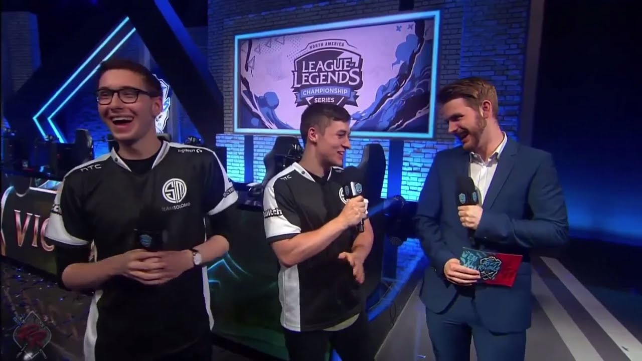 Svenskeren Too Funny On This Interview Bjergsen On Future Tsm Youtube