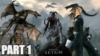 Skyrim Special Edition Gameplay Walkthrough Part 1 - How To Play Skyrim Remastered PC Review