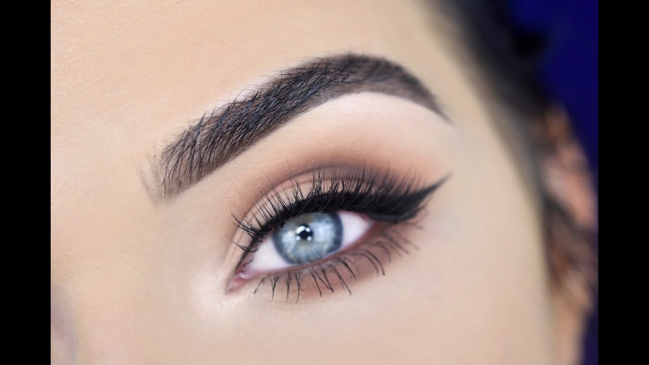 Too Faced Natural Matte Eyeshadow Palette Eye Makeup Tutorial