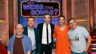 Wer Weiß Denn Sowas S04e105 Oliver Mommsen Tanja Wedhorn