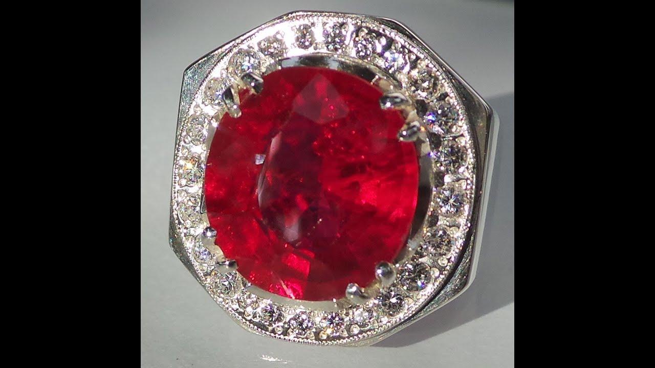 Dark Ruby Ring