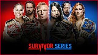 WWE Survivor Series 2018 Highlights Full Match Cards   Champion vs Champion Match 2018
