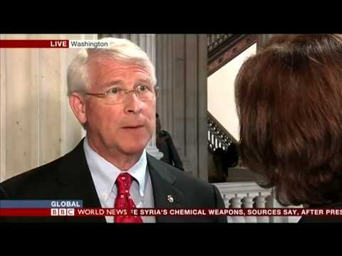 Wicker Discusses Syria with Jane Hill on BBC World News