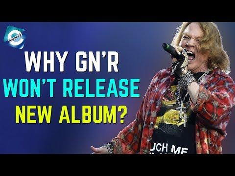 Why Guns N' Roses Won't Release A New Album? Axl Rose Vs Slash!