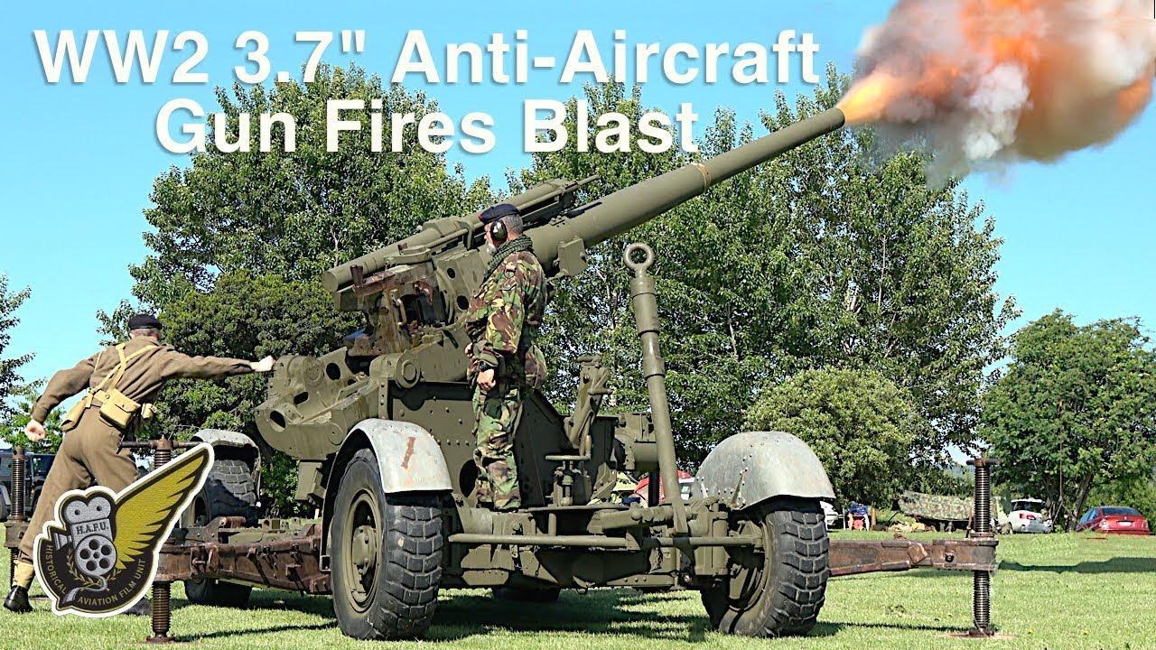 Anti Aircraft Gun Ww2 - splash