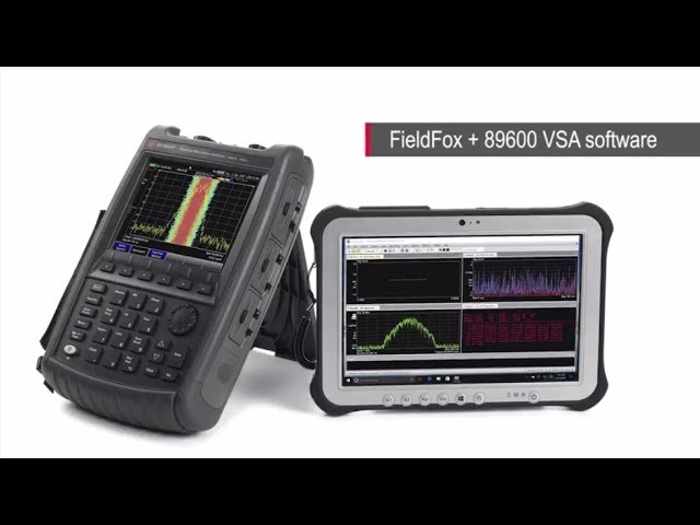 keysight fieldfox handheld rf microwave