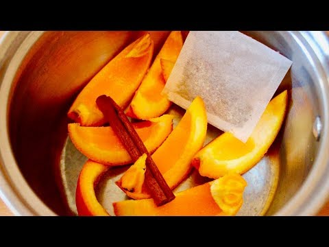 Drink Boiled Cinnamon and Orange Peels, THIS Will Happen To Your Body!
