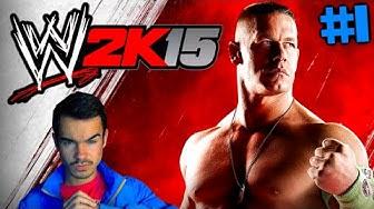 WWE 2K15 : Let's Play #1 [FACECAM] - JOHN CENA RASIERT !! [German] HD