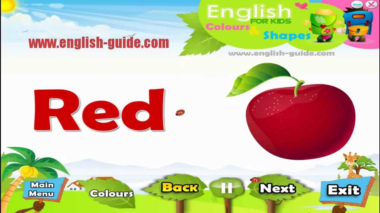 Colours تعليم الاطفال الانجليزية الالوان Youtube