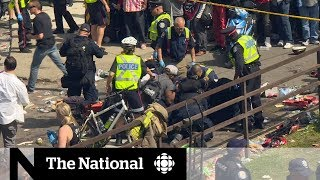 4 people shot during Raptors celebration