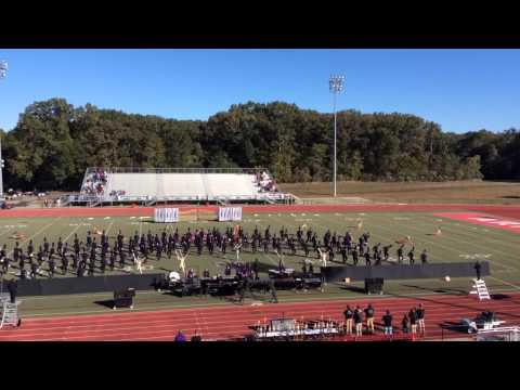 The Pride of Desoto Central High School Marching Band State Competition 2014