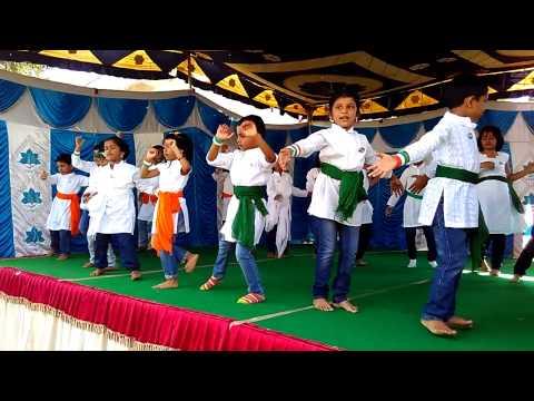 Vande Mataram Dance - 15.8.15