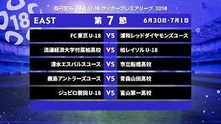 EAST 第7節 ダイジェスト【高円宮杯 JFA U-18サッカープレミアリーグ 2018】