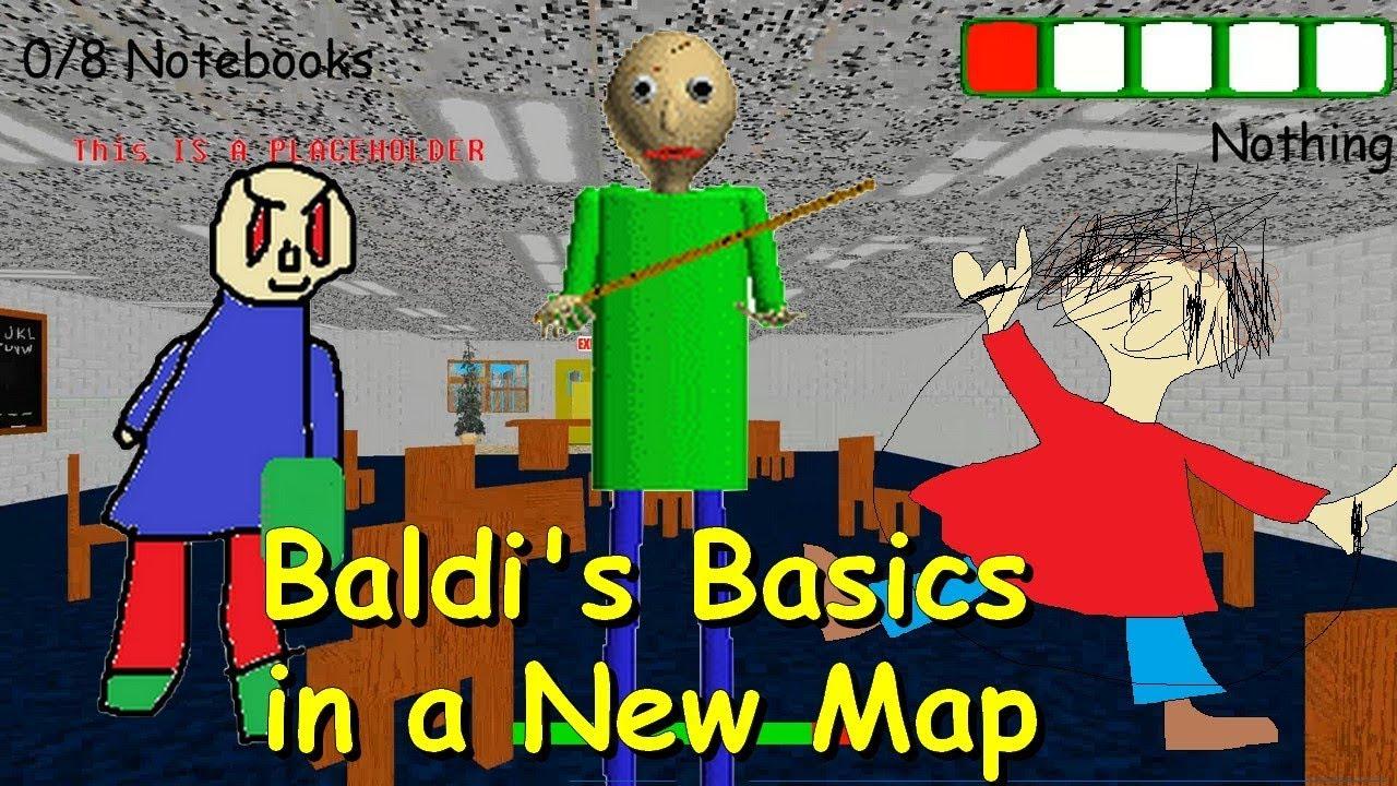 Baldis Basics 3d Morph Rp Baldis Basics In Education And Learning 3d Roblox Map 2 - Baldi S Basics In A New Map Beta Baldi S Basics 1 3 2 Decompiled