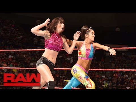 Bayley vs. Anna Fields: Raw, Sept. 26, 2016