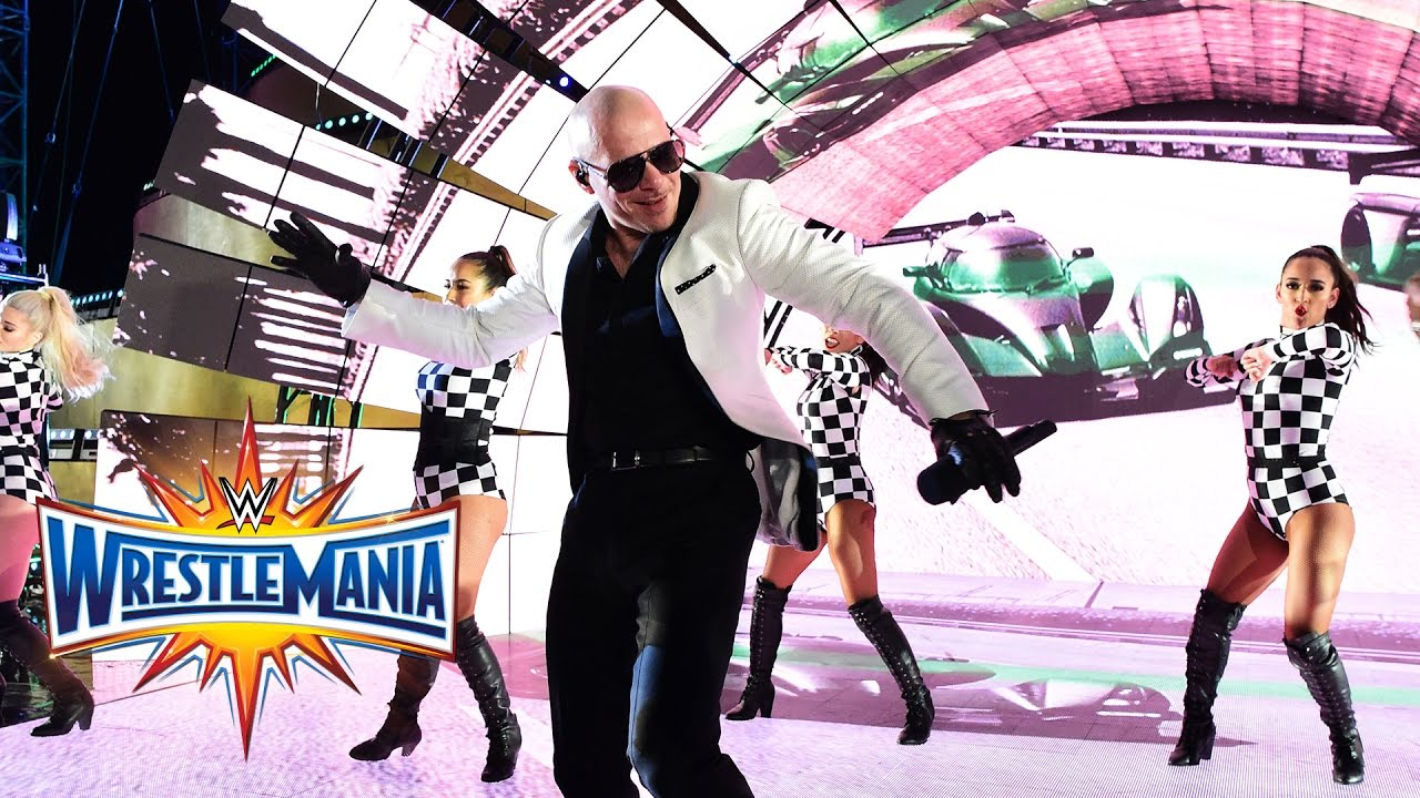 Download Pitbull, Flo Rida, Lunchmoney Lewis &Stephen Marley perform at WrestleMania (WWE Network Exclusive)