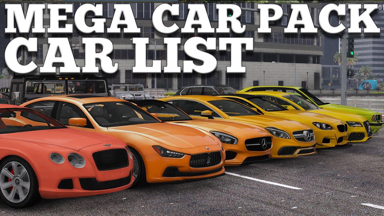 Gta  Pc Mega Cars Pack