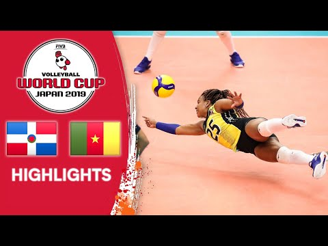 DOMINICAN REPUBLIC vs. CAMEROON - Highlights   Women's Volleyball World Cup 2019