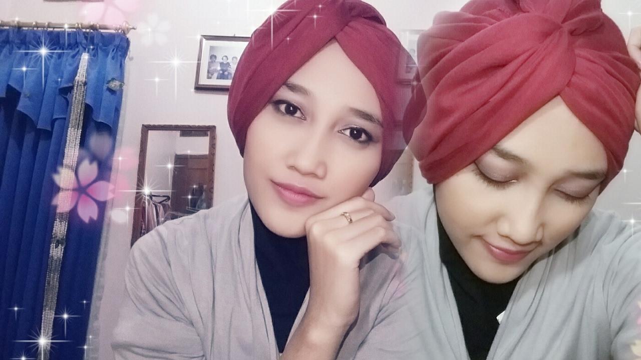 Tutorial Hijab Segiempat Turban YouTube