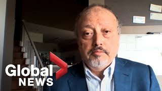 Exclusive: Khashoggi eerily foreshadows death in one of his final interviews