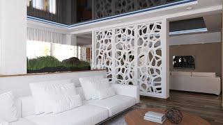 ZAK Interior _ PART I (sketchup modelisation [timelapse])