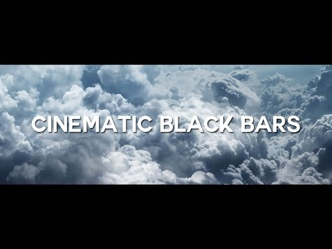 WIDESCREEN OVERLAY FREE DOWNLOAD (Cinematic Black Bars Overlay)