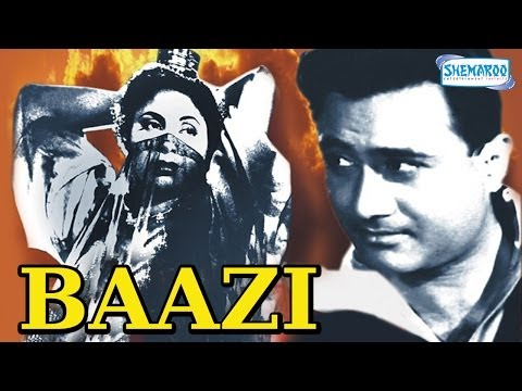 Baazi - Hindi Full Movie - Dev Anand - Geeta Bali - Kalpana Kartik