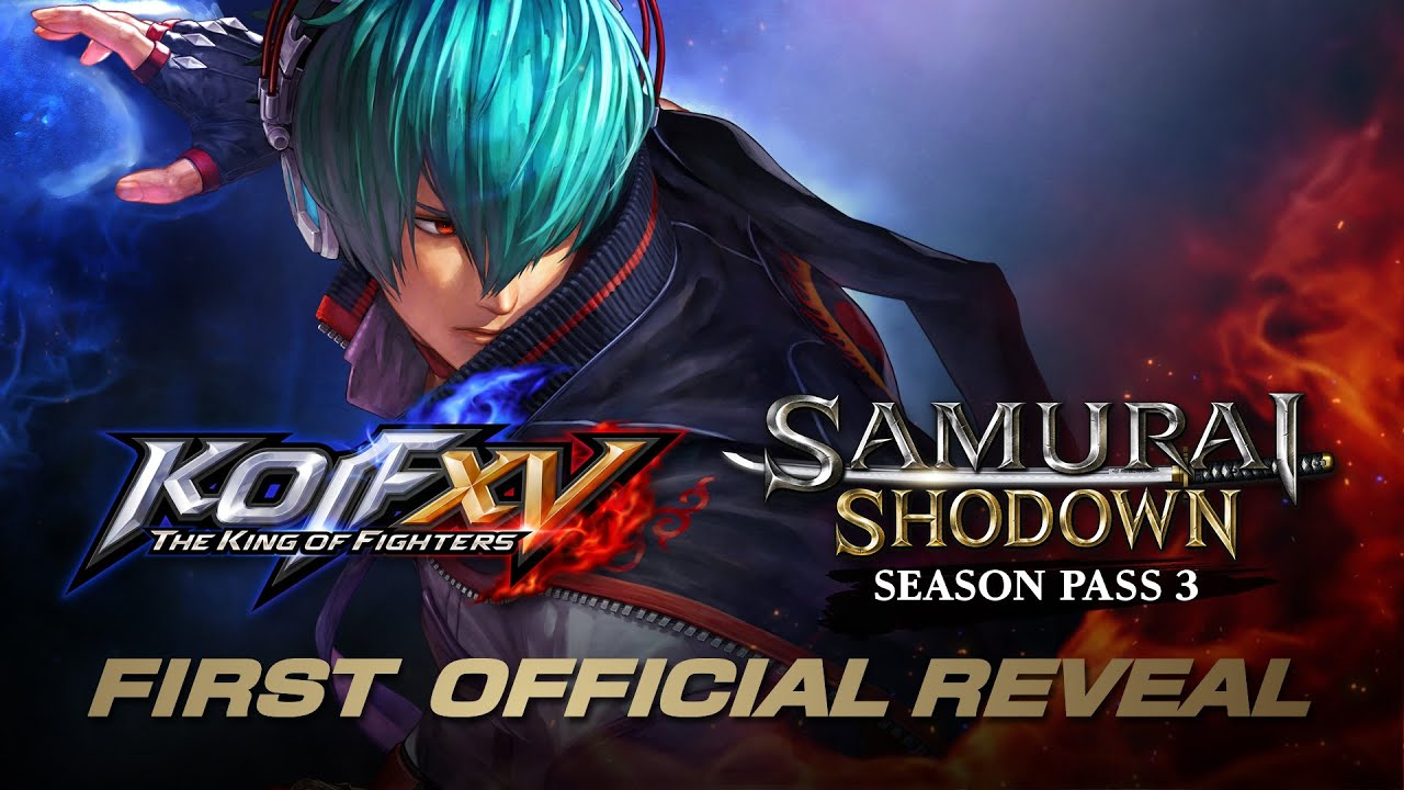 【ENG】First Official Reveal: KOF XV & SAMURAI SHODOWN