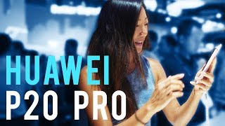 Huawei P20 Pro Hands-on At Mobile World Congress Shanghai 2018