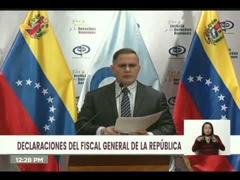 Fiscal General anuncia detención de 26 personas presuntamente involucradas en trata de personas