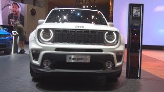 Jeep Renegade S 1.3 Turbo 180 hp 4x4 AT (2019) Exterior and Interior