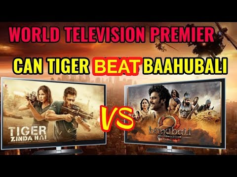 TIGER ZINDA HAI WORLD TELEVISION PREMIER ALL SET TO BEAT BAAHUBALI 2 TRP RECORD | SALMAN KHAN