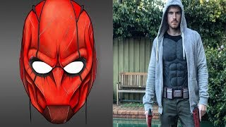Road to Red Hood: Part 2- Final Helmet Concept & Muscle Suit!