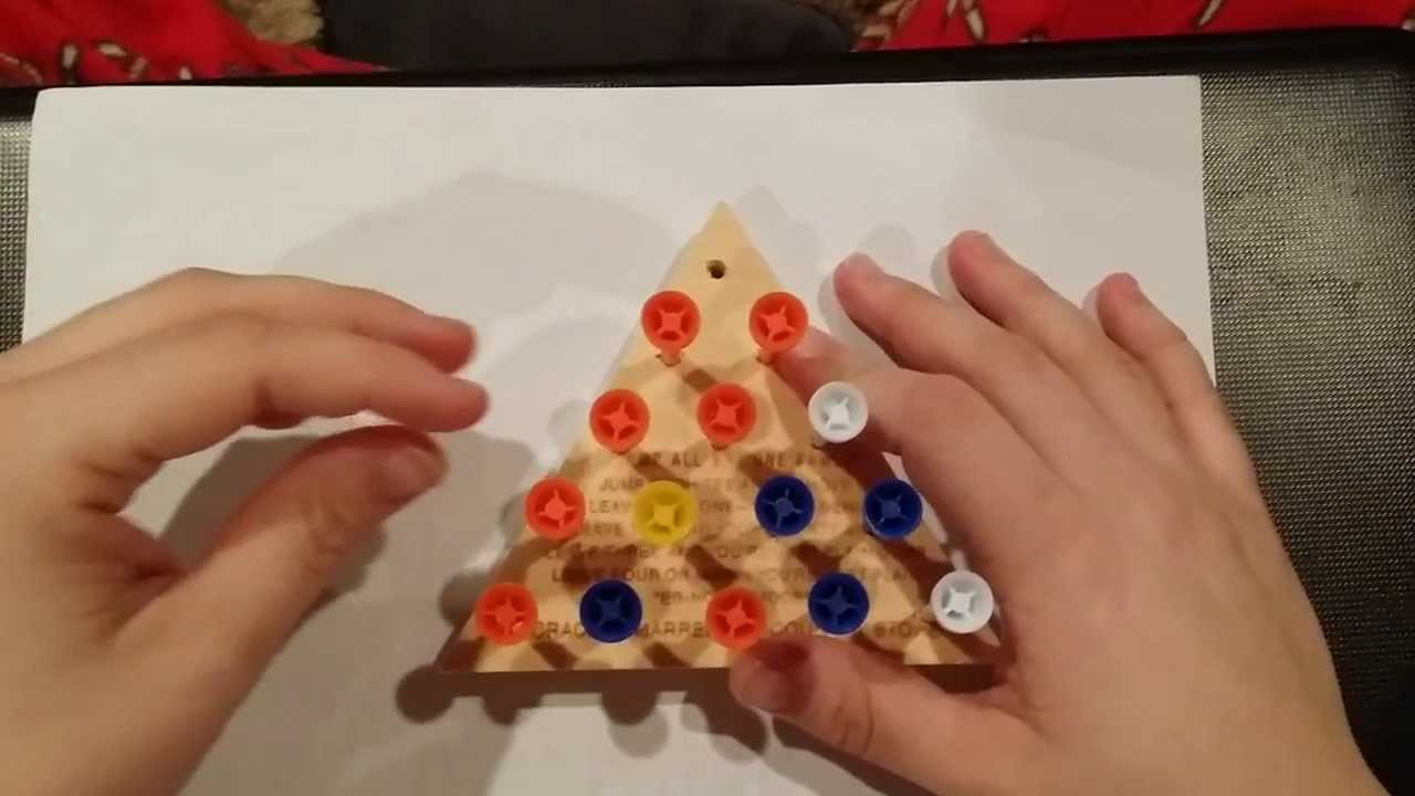 How To Beat The Cracker Barrel Peg Game Using A Baseball Analogy
