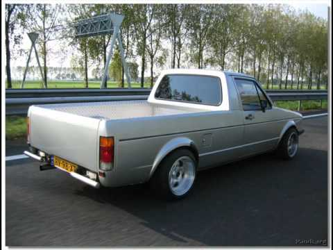vw golf pick up caddy love it x3 youtube. Black Bedroom Furniture Sets. Home Design Ideas