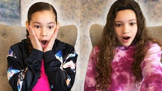 SHE CHEATED!!! Reacting To Our Blindfolded Slime Challenge